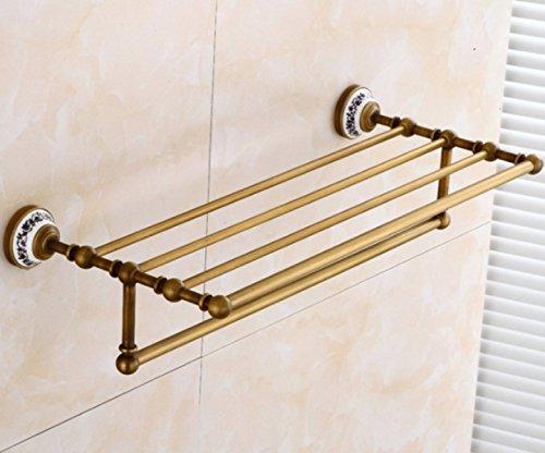 Handtuchhalter Antike-Bad Handtuchhalter Komplette Kupfer Badezimmer Hardware-Anhänger (Badezimmer Nickel Handtuchhalter)