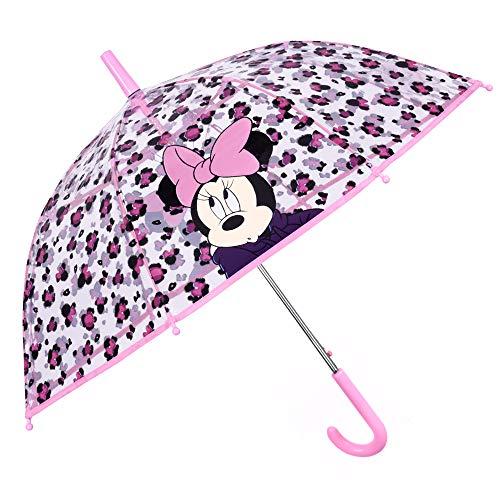 Paraguas Infantil Transparente Minnie Mouse   Paraguas