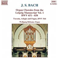 Bach, J.S.: Organ Chorales From The Leipzig Manuscript, Vol. 1
