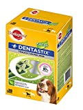 Pedigree Dentastix Fresh Daily Dental Chews Medium Dog, 28 bastoncini