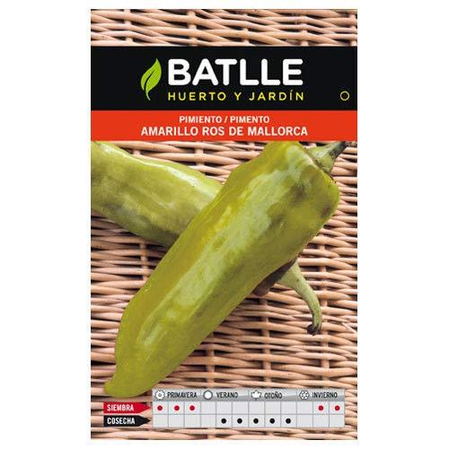 Portal Cool Vegetable Seed Batlle - Gelber Pfeffer Ros Mallorca (0,75 g)