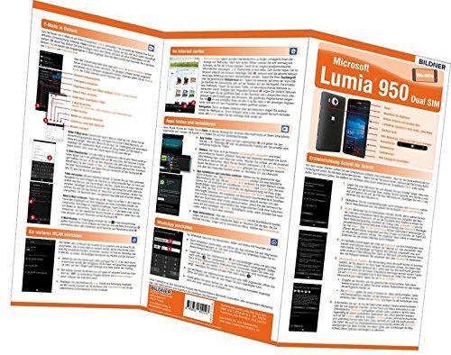 Microsoft Lumia 950 - der leichte Einstieg: Alles auf einen Blick. Besonders für Senioren geeignet (Wo&Wie / Die schnelle Hilfe)