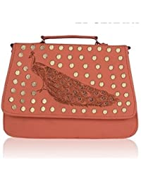purses for women branded leather by EDGEKART | Sling Bag cum Hand Bag for Women and Girls Stylish Tredy Low Price Baggit Organiser- Brown