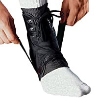 MEDIZED Ankle Stabilizer Brace Support Guard Protector Sports Safety Foot Strain Stirrup Compression Strap Speed Lacer Soccer Baseball Netball Volleyball