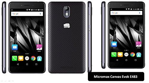 Micromax Canvas E483 Evok 4G (Black, 3GB RAM 16GB ROM)