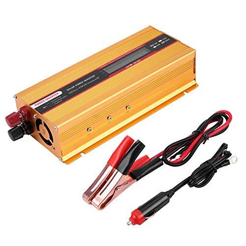 wer Inverter mit LCD-Bildschirm USB-Ladegerät Konverter modifizierte Sinus WaveFor   Home Car RV Elektronik ()