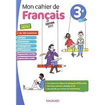 Mon cahier de français 3e