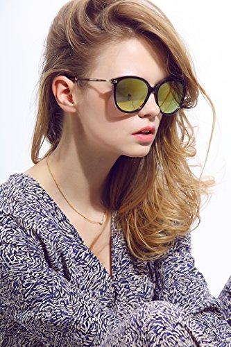 Diamond Candy Damen Mode Sonnenbrille Wayfarer brille Designer Fliegerbrille