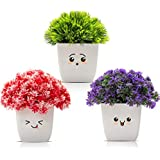 Amputive Artificial Plant with Pot (Set of 3)