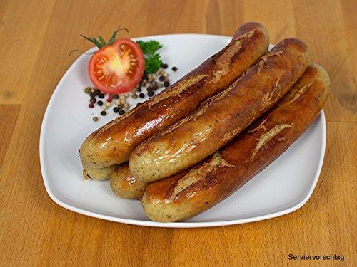 Rostbratwurst, 2 Packungen zu 5x100g - Bratwurst/Grillwurst ideal für Grill und Pfanne - Original westfälisch Ringhoff