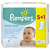 Pampers - Fresh Clean - Toallitas húmedas - 2 x 384...