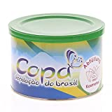 Copa depilacao do brasil, Brasilianischer Wachs soft u. flexibel, brazil waxing ohne Vlies-streifen, Kosmetex Abfüllung 400ml