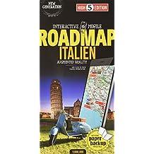 Interactive Mobile ROADMAP Italien: Strassenkarte Italien 1:800 000 (High 5 Edition ROADMAP Collection)