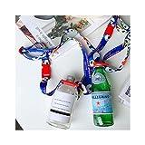 Little Roger Flaschenhalter Lanyard -Einstellbare -Passt für die Meisten Wasserflasche & Baby Babyflasche Einstellbar Wasserflasche Sling, Kompakt Lanyard Flaschenträger(2 Pack)