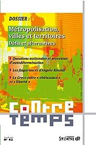 Métropolisation, villes et territoires par  Syllepse
