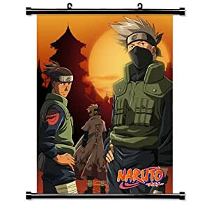 anime naruto manga en tissu poster affiche 61 cm x 33 cm cuisine maison. Black Bedroom Furniture Sets. Home Design Ideas