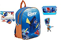 Disney Pixar Finding Dory 3d Junior School Backpack Toy Bundle For Childrentoddlerkids – 4 Piece
