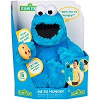 Sesame Street Talking Me Hungry Cookie Monster Suave muñeco de Peluche de Juguete