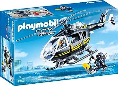 Playmobil 9363 - SEK-Helikopter Spiel von geobra Brandstätter Stiftung & Co. KG, de toys, GEOVR