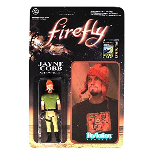 - Firefly Jayne Cobb with Hat ReAction Figure ()
