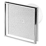 Cerámica de pared baño cocina de la baldosa extractor de humos de 100 mm de diámetro con temporizador