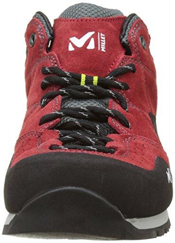 MILLET Rockway, Scarpe da Arrampicata Basse Uomo Rosso (Red/acid Green)