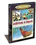 4400 Fonts & Cliparts