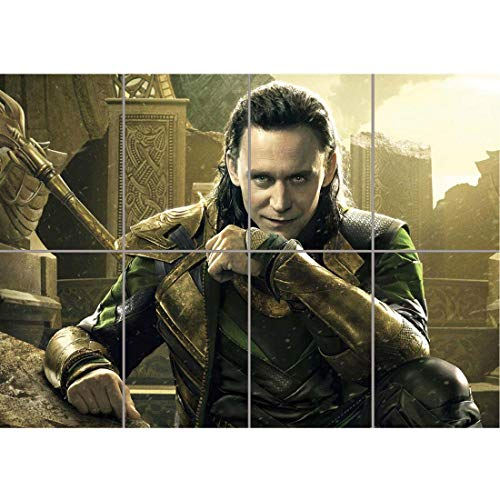 TOM HIDDLESTON THOR LOKI MOVIE FILM GIANT ART PRINT HOME DECOR POSTER PLAKAT DRUCK OZ2917