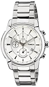 Timex E-Class Analog Silver Dial Men's Watch - TW000Y500