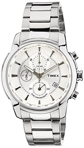Timex E-Class Analog Silver Dial Men's Watch - TW000Y500 image