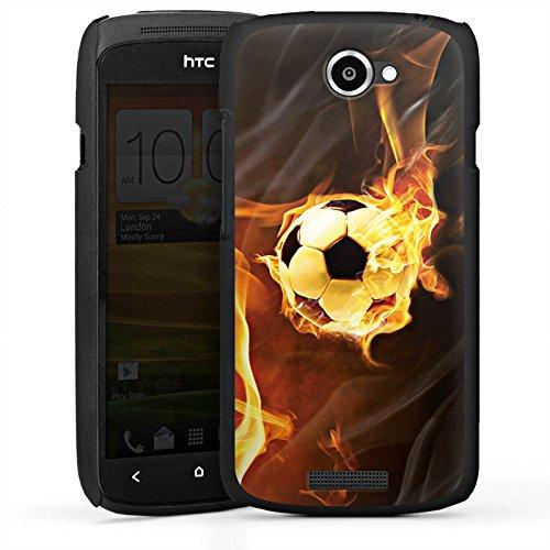 DeinDesign HTC One S Hülle Case Handyhülle Fussball Football Sport