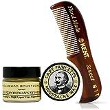 Various Coffret cire et peigne pour moustache