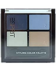 Esprit Styling Colour Palette Quattro Eyeshadow Mineral eyeshadow colour: blue 300 Aquatic