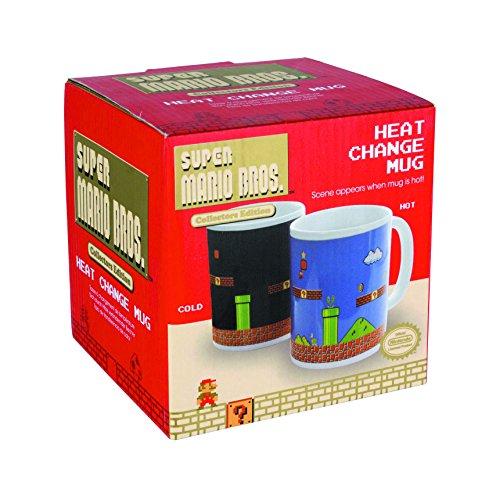 """Super Mario Bros """"Heat Change"""" - Tazza che cambia colore con il caldo, motivo: Super Mario, colore: multicolore"""
