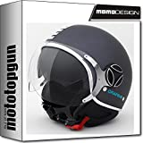 MOMO-DESIGN JET-HELM FIGHTER EVO GRAPHENE CHROME ML