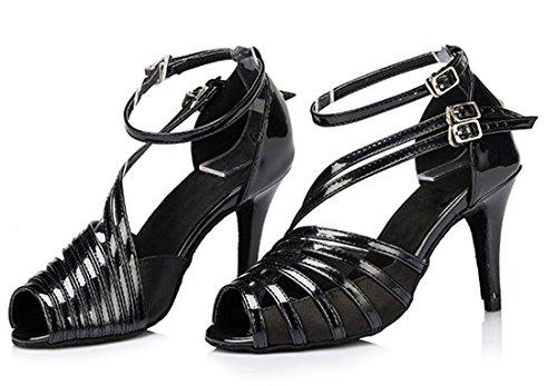 TDA - Peep-Toe donna 8.5cm Heel Black