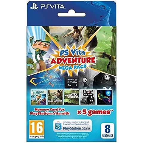 Adventure Mega Pack Plus 8 GB Memory Card [Importación Inglesa]