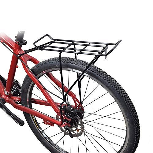 Fahrrad Gepäckträger Bike Commuter Carrier Rack mit Sattelstütze Schnellspanner Universal Rear Mount für Fahrrad Cargo Fahrrad Gepäckträger -
