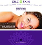 Silc Skin Facial Wrinkles Anti-Wrinkle Medical Grade Silicone Pads Against Plunge Pleat Neck, Eyelid, Wrinkles with German Operating Instructions by Blissany