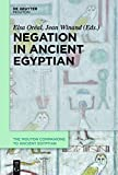 Negation in Ancient Egyptian (Mouton Companions to Ancient Egyptian) (Hardcover) [Pre-order 15-06-2019]