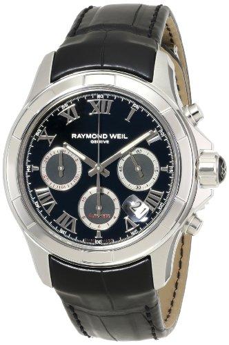 raymond-weil-homme-cuir-bracelet-acier-inoxydable-boitier-montre-7260-stc-00208
