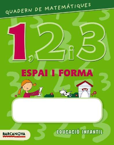Quadern de matemàtiques 1, 2 i 3. Espai i forma 1 (Materials Educatius - Parvulari) - 9788448927578