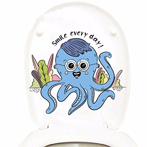 Preisvergleich Produktbild DOLDOA Wandtattoo,Kühlschrank Toilette Aufkleber DIY Personalisierte Möbel Dekoration Aufkleber (B)
