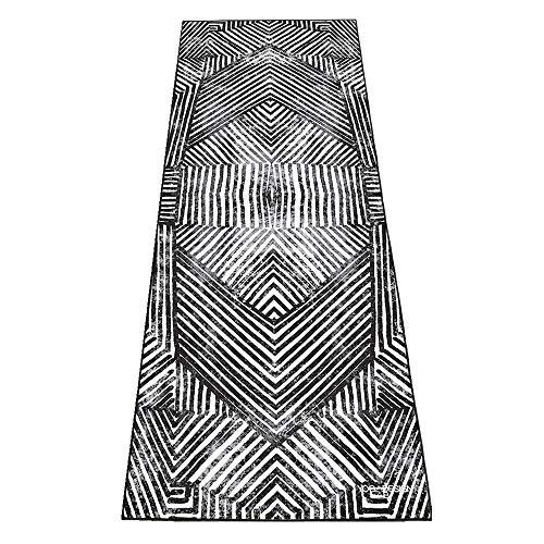 Yoga Design Lab HOT Yoga Handtuch Rutschfest, leicht | Saugfähiges Mikrofaser Handtuch | Schnelltrocknend, waschmaschinenfest | Ideal für Hot Yoga, Bikram, Fitness und Baden am Strand (Optical)