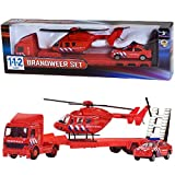 AK Sport 0301095 112 Feuerwehr Set 3-teilig