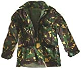 Boys 3-4 Padded Soldier Army Jacket Woodland Camouflage