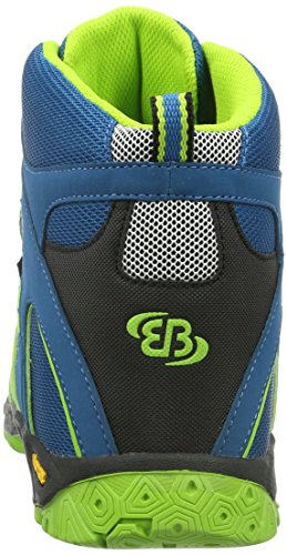 EB kids Jungen Vision High Trekking-& Wanderstiefel Blau (petrol/lemon/schwarz)