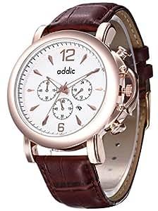 Addic Luxury;Sports Analog White Dial Men's Watch - AddicMW156