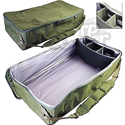NGT Carp Fishing Tackle Universal Padded Large Bait Boat Bag Carryall Holdall by NGT