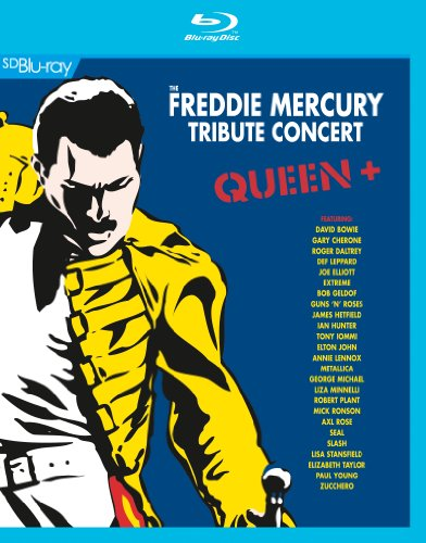 Queen + - Freddie Mercury Tribute Concert [Blu-ray] -